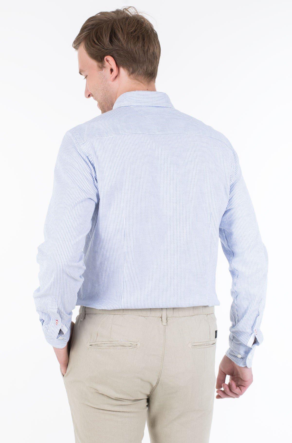 Marškiniai CORE STRETCH SLIM STRIPE SHIRT-full-2