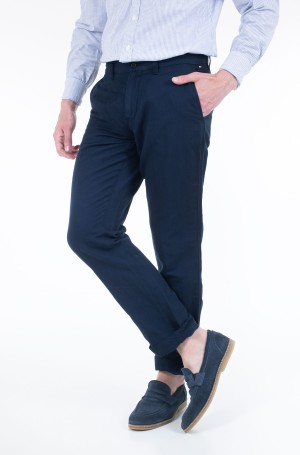 Trousers MERCER CHINO COTTON LINEN-1