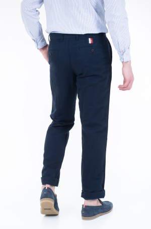 Trousers MERCER CHINO COTTON LINEN-2