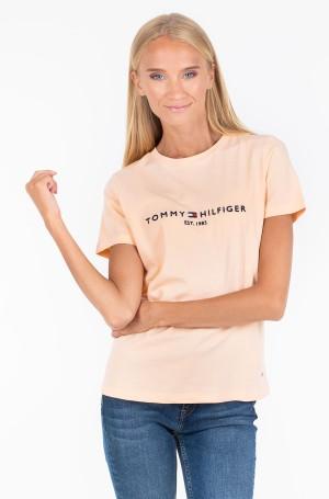 Marškinėliai INJ TH ESS HILFIGER C-NK TEE SS-1