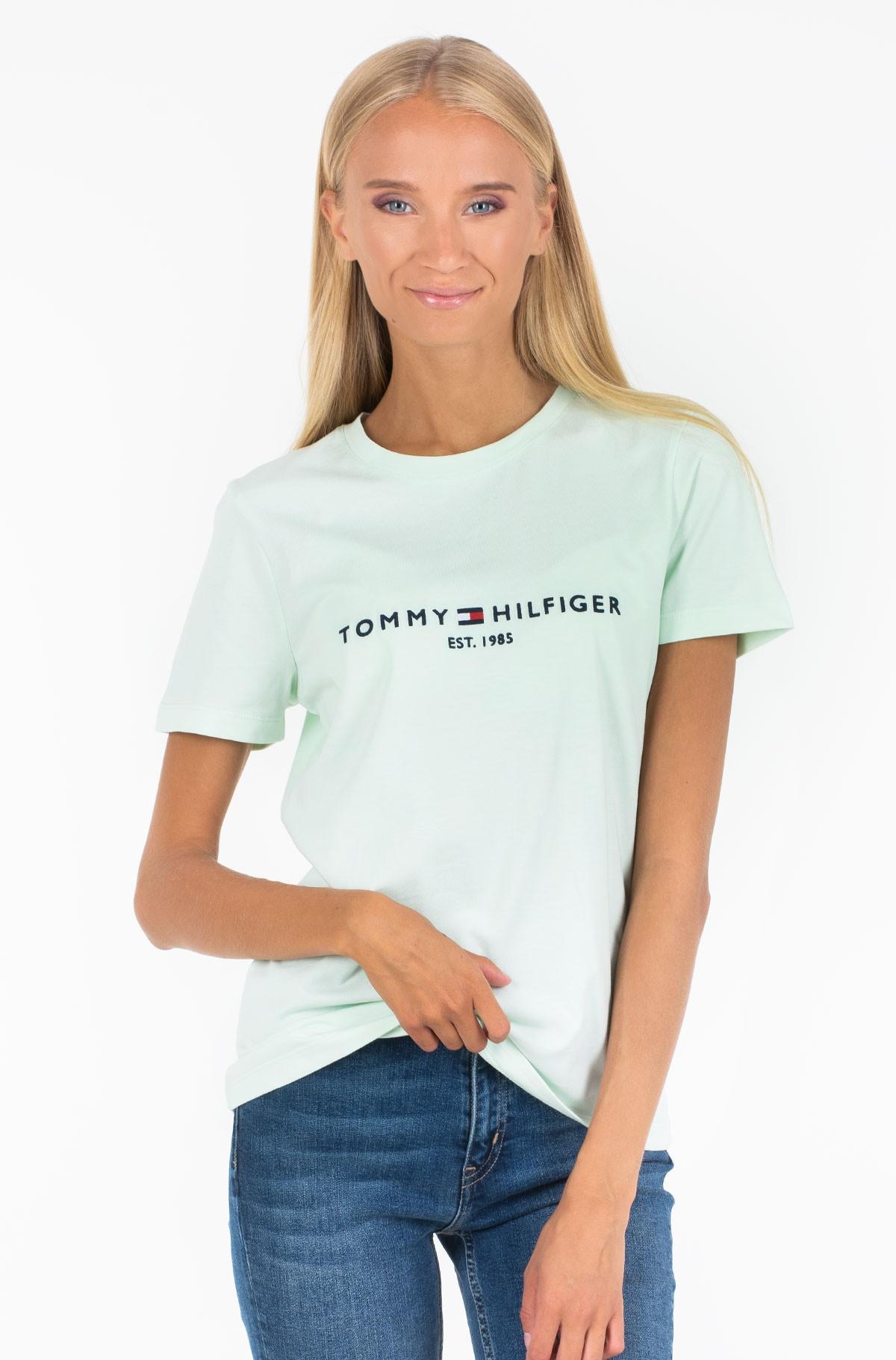 Marškinėliai INJ TH ESS HILFIGER C-NK TEE SS-full-1