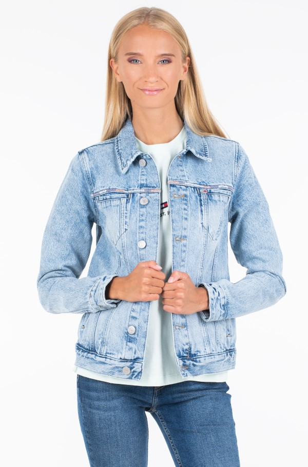REGULAR TRUCKER JACKET CHRL