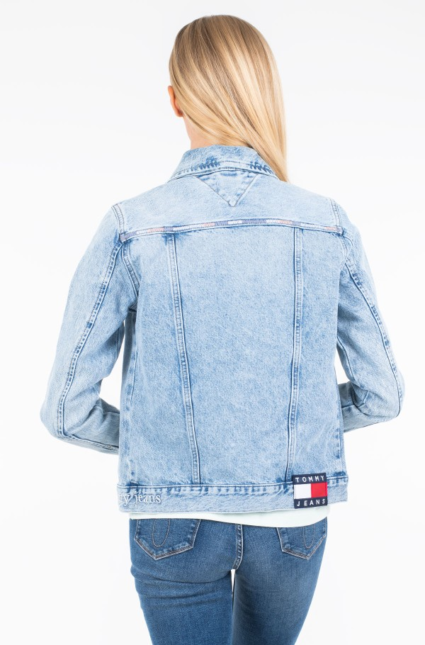 REGULAR TRUCKER JACKET CHRL-hover