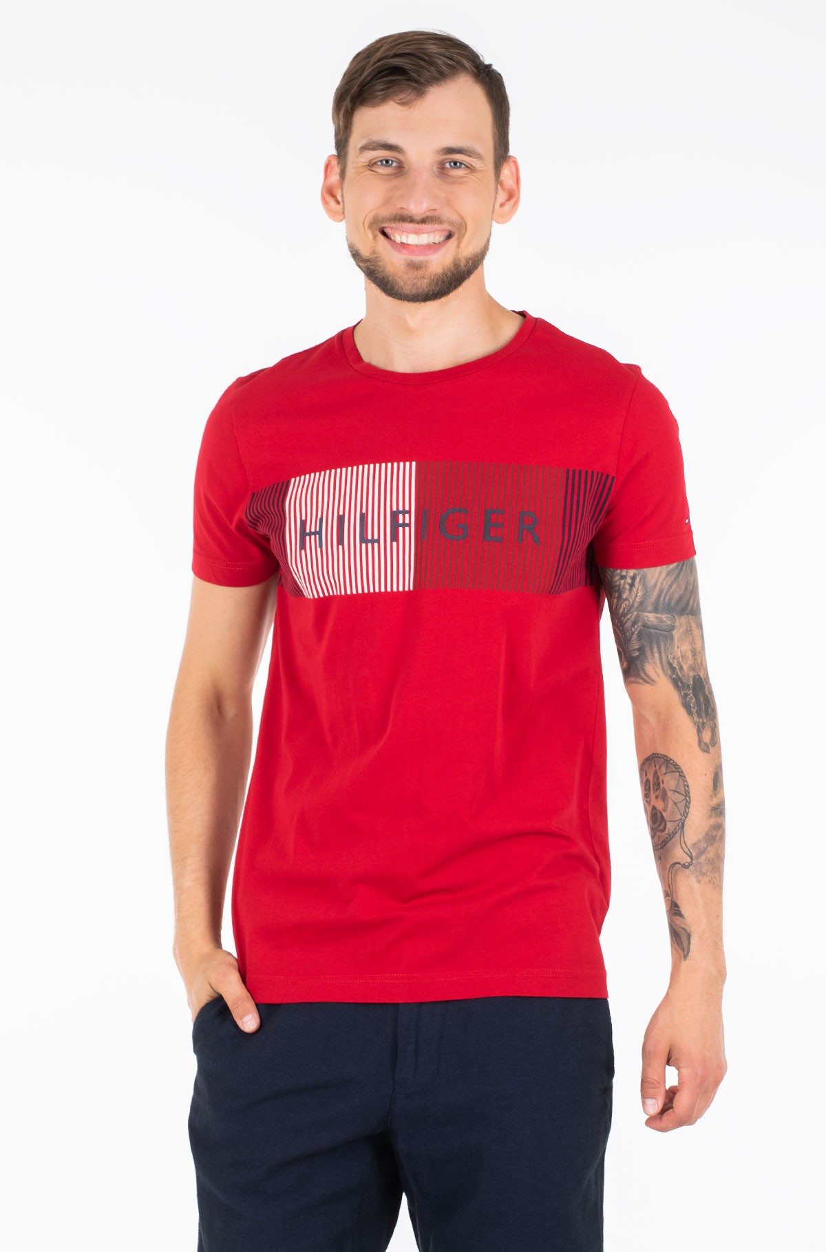 Marškinėliai CORP MERGE TEE-full-1