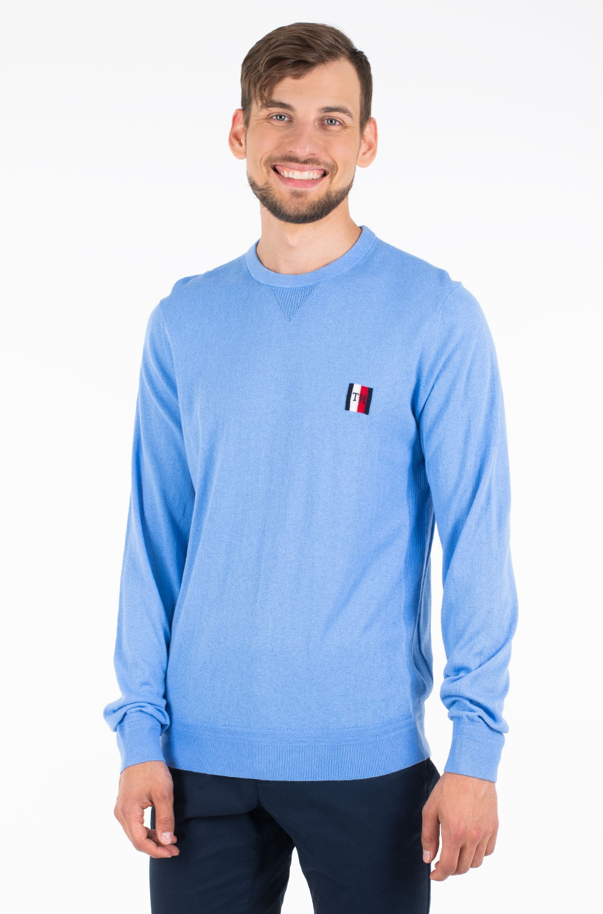 Sviiter PERFORMANCE ORGANIC COTTON CREW-full-1