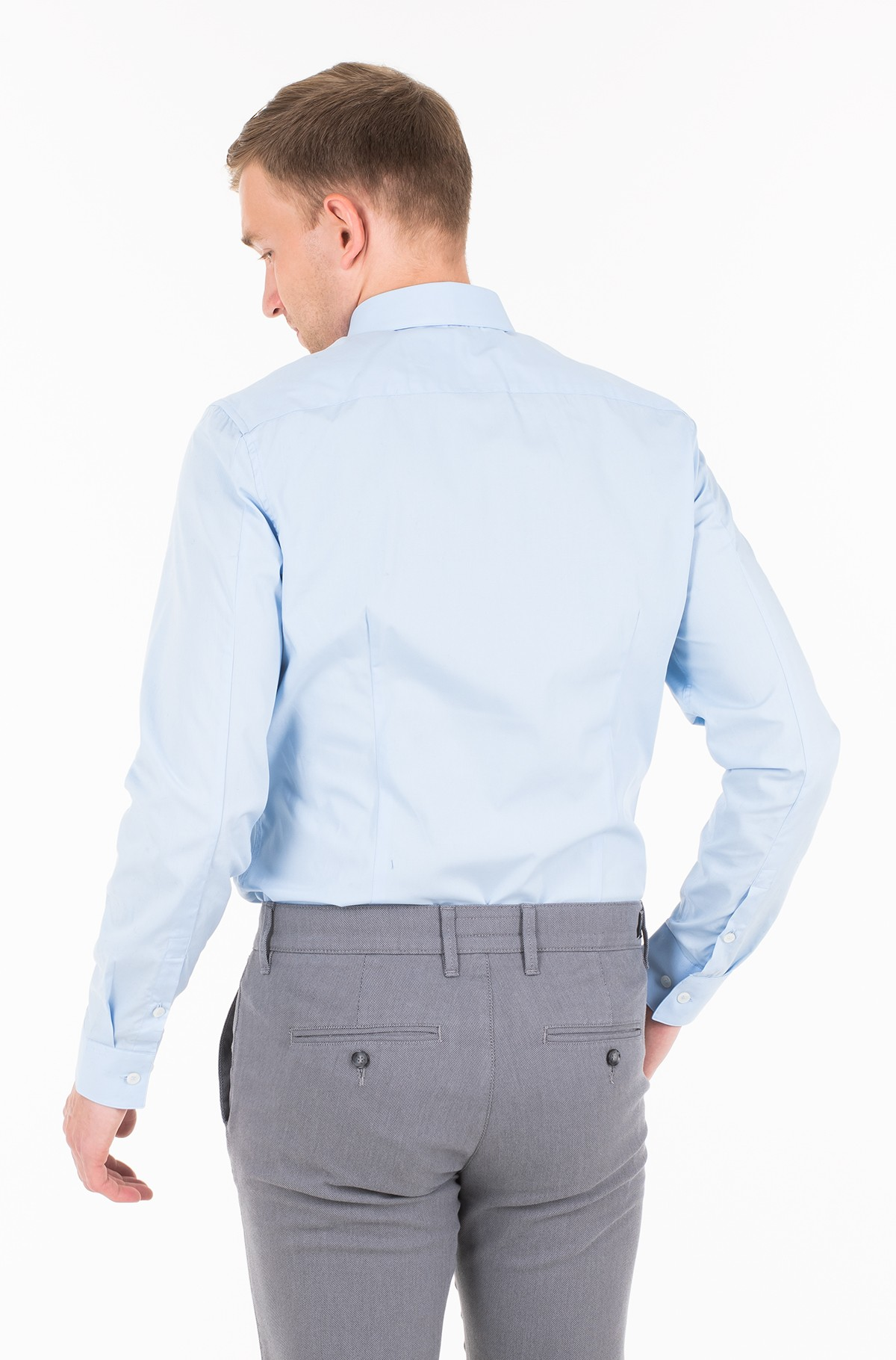 Triiksärk CK SLIM STRETCH SHIRT	-full-2