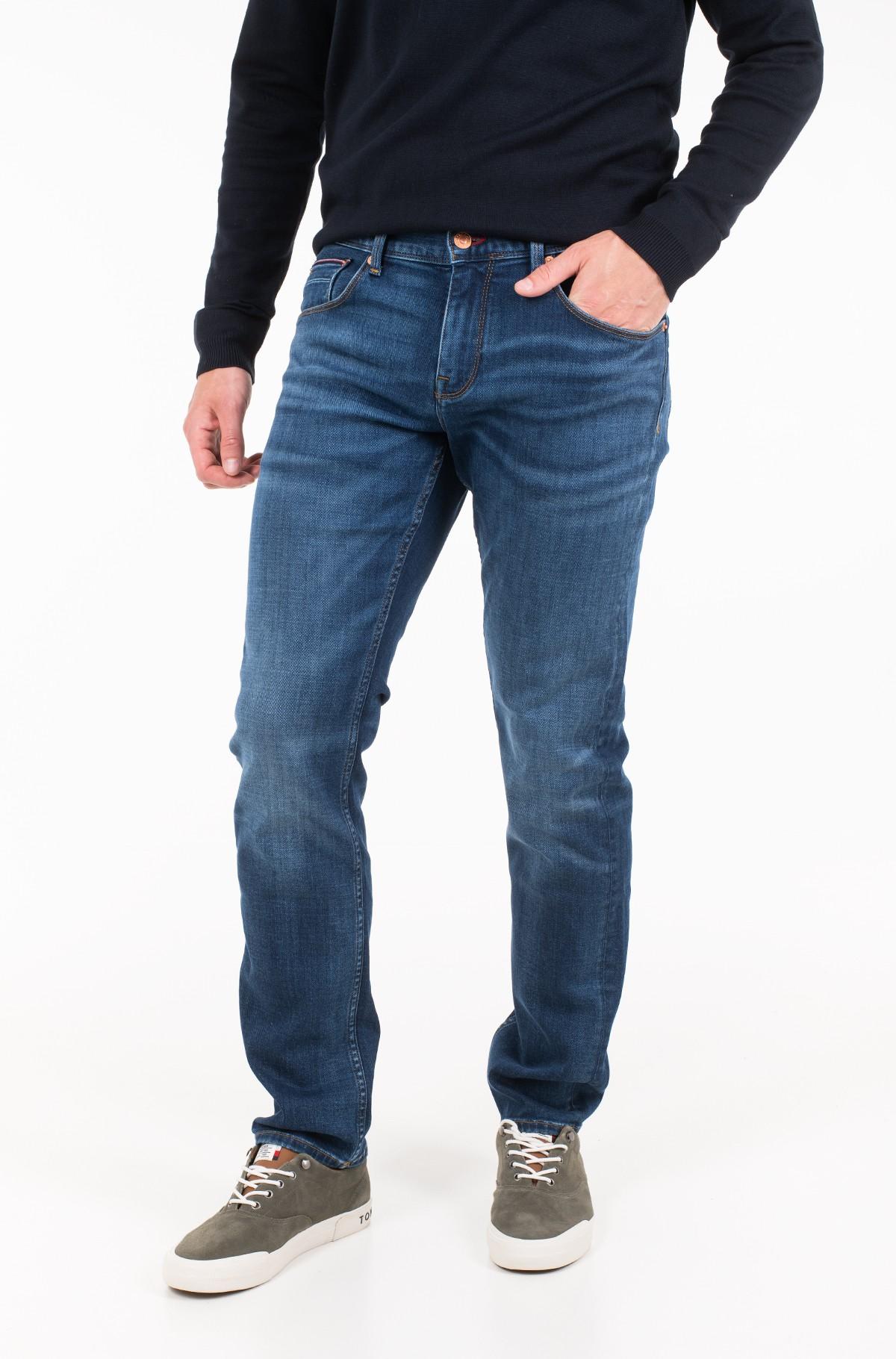 Džinsinės kelnės STRAIGHT DENTON PSTR STITES BLUE-full-1