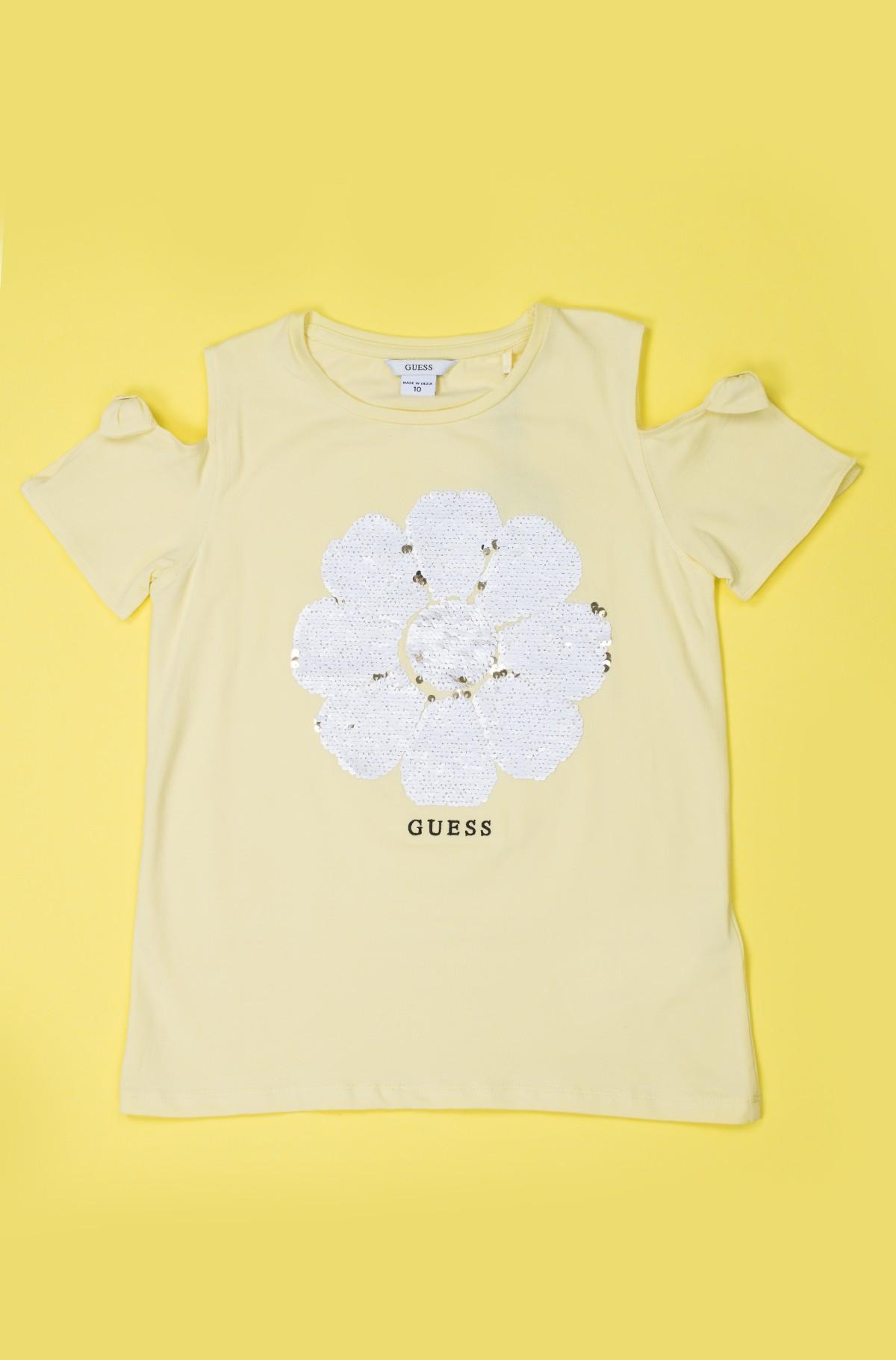 Vaikiški marškinėliai trumpomis rankovėmis J92I08 K82J0-full-1