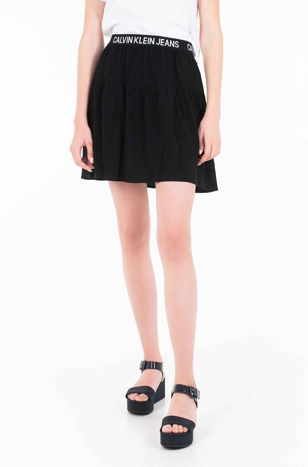Skirt FLORAL LOGO TAPE SKIRT-full-1