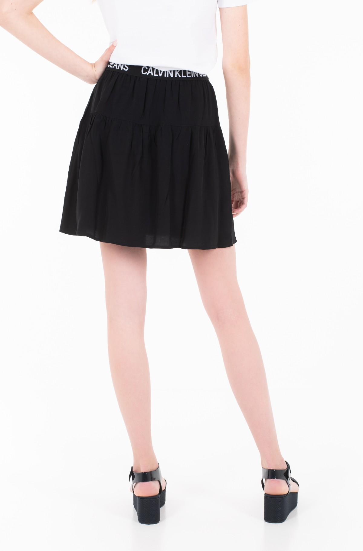 Skirt FLORAL LOGO TAPE SKIRT-full-2