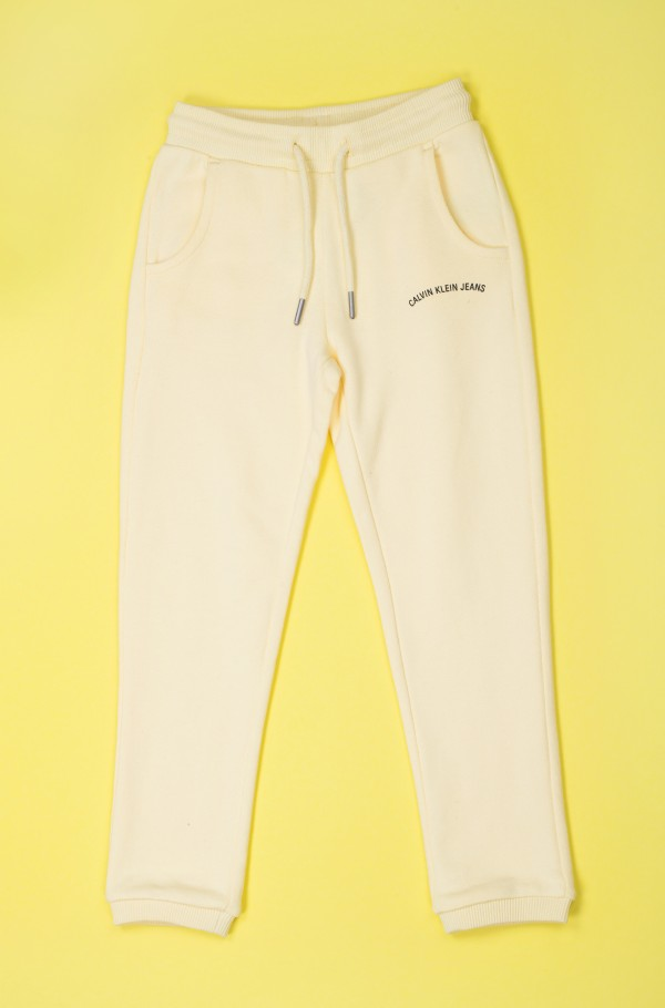LOGO TERRY SWEATPANTS