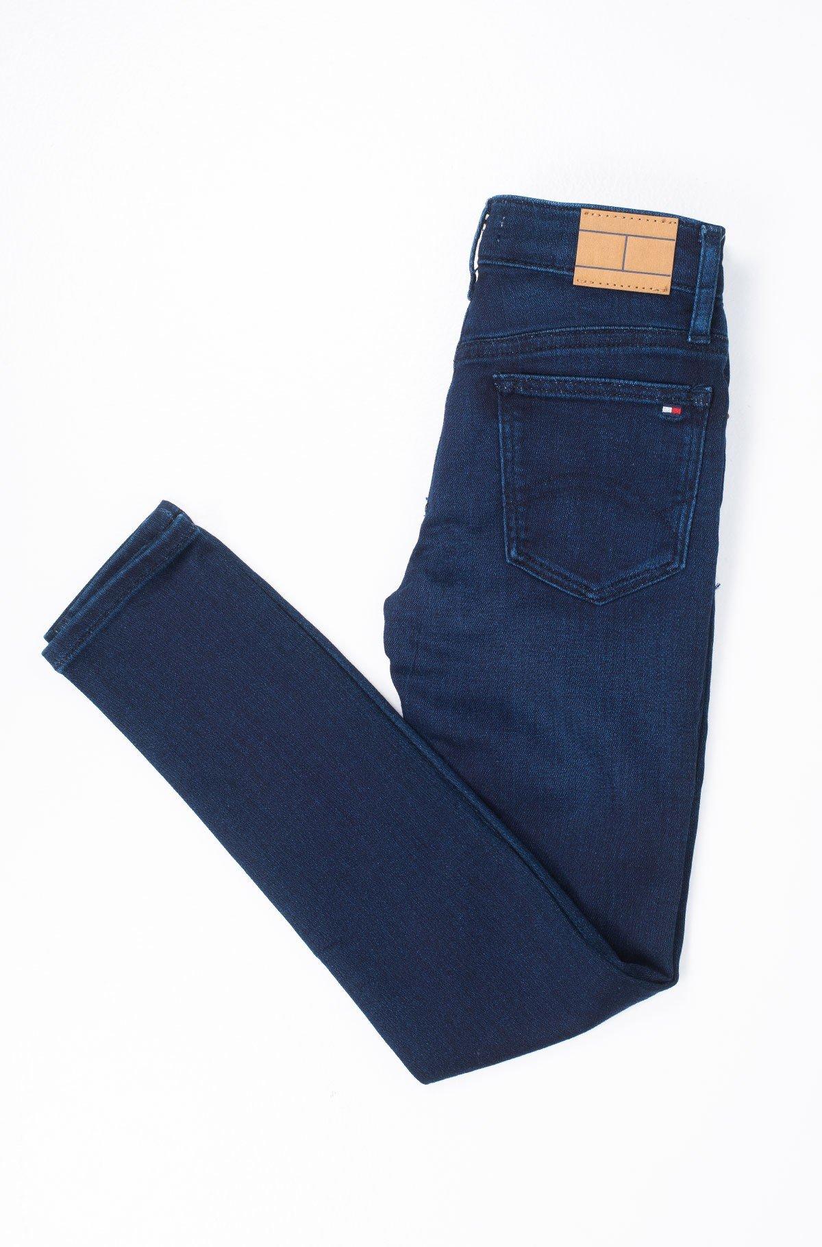 Vaikiškos džinsinės kelnės NORA RR SKINNY SLMBST-full-2