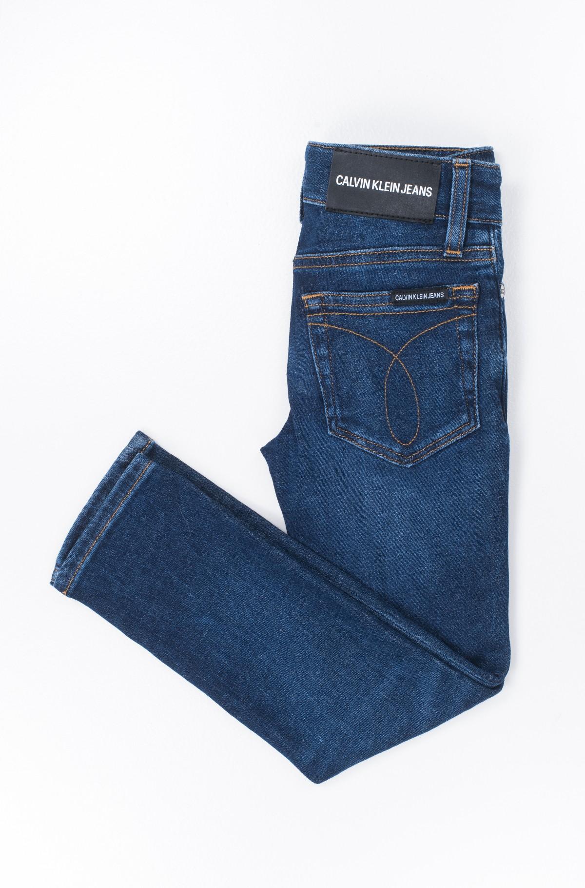 Laste teksapüksid SLIM SAVE DARK STRETCH-full-2