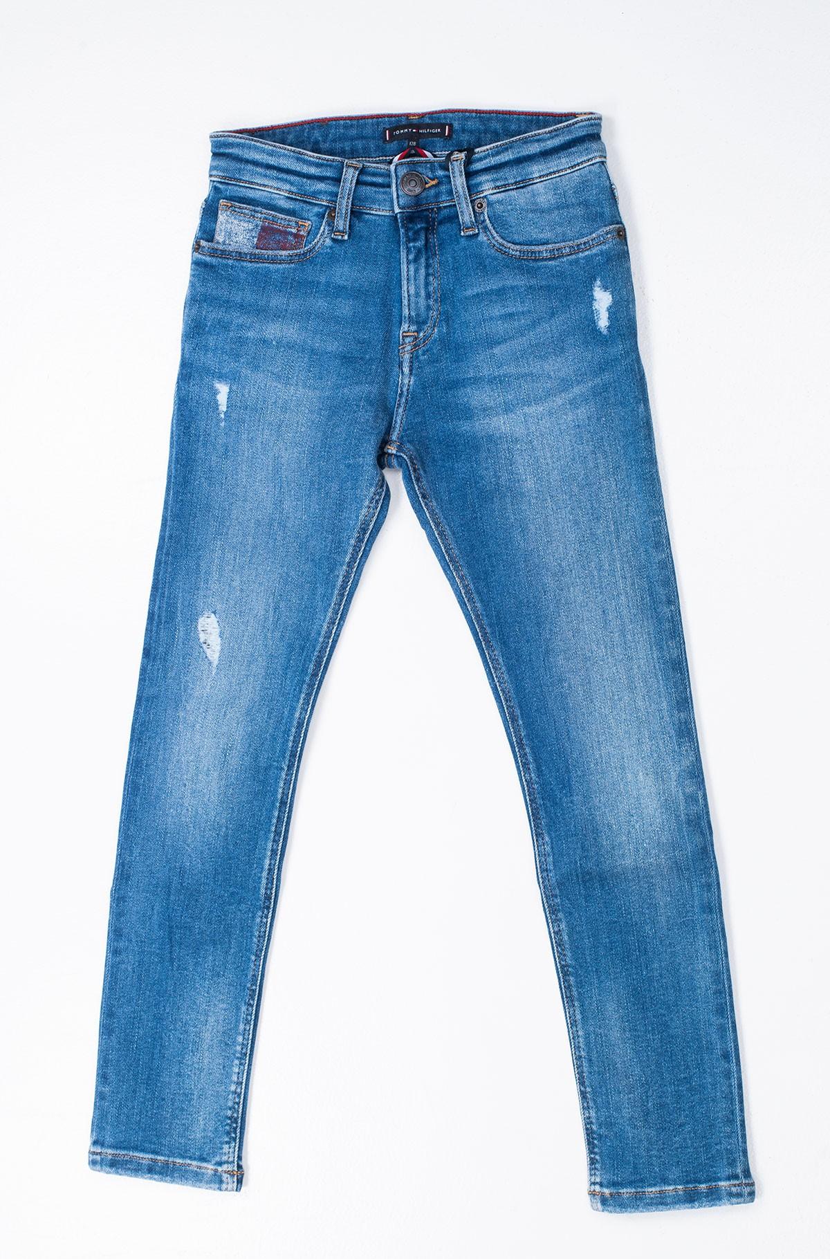Vaikiškos džinsinės kelnės STEVE SLIM TAPERED AUMBSTD-full-1