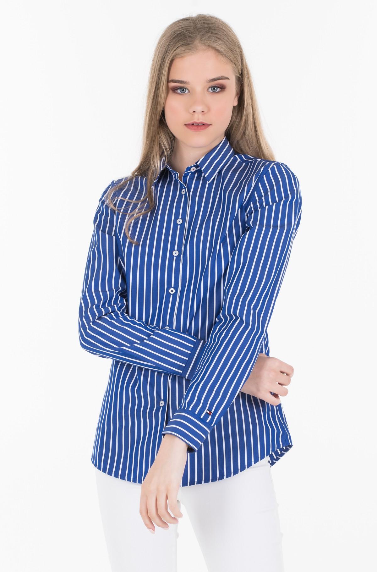 Marškiniai TH ESSENTIAL SHIRT LS W2-full-1