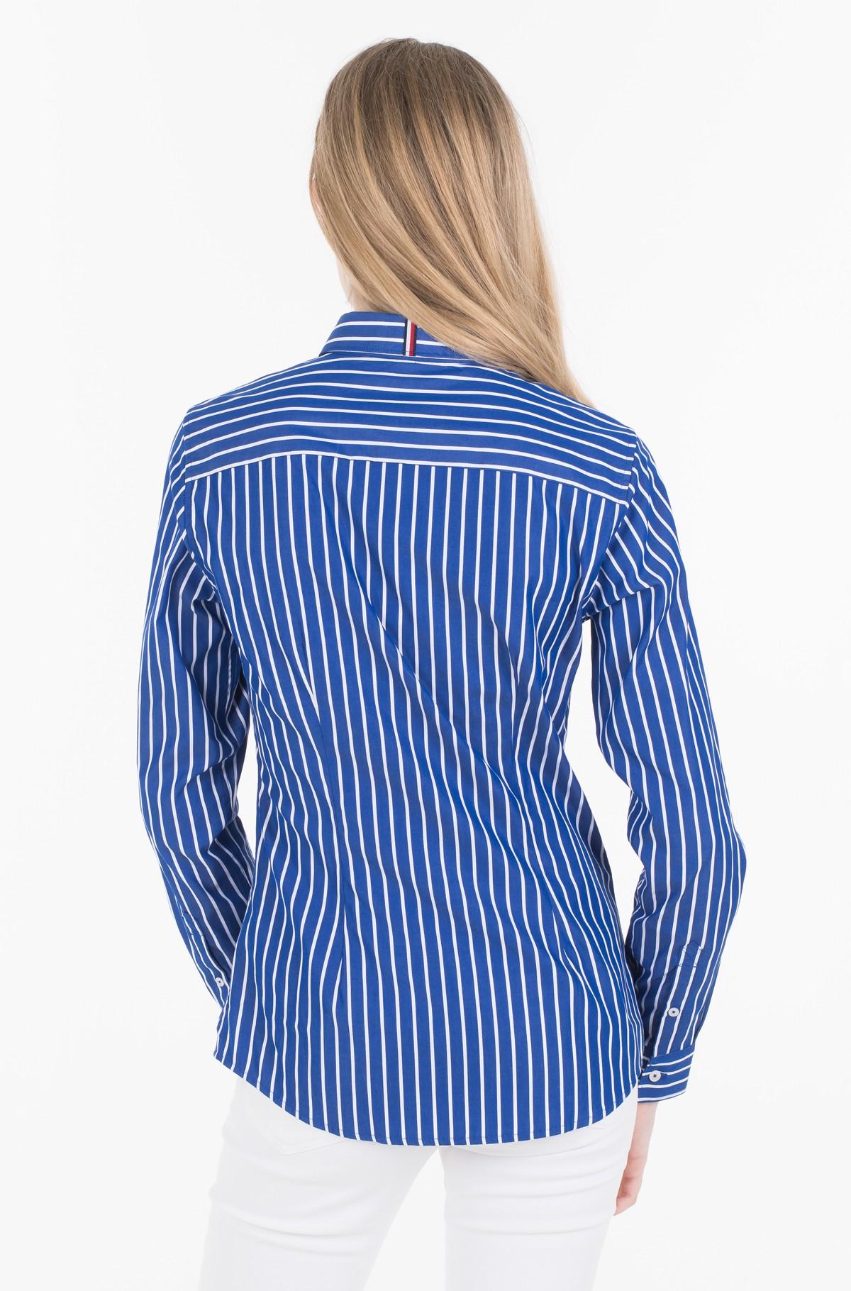 Marškiniai TH ESSENTIAL SHIRT LS W2-full-2