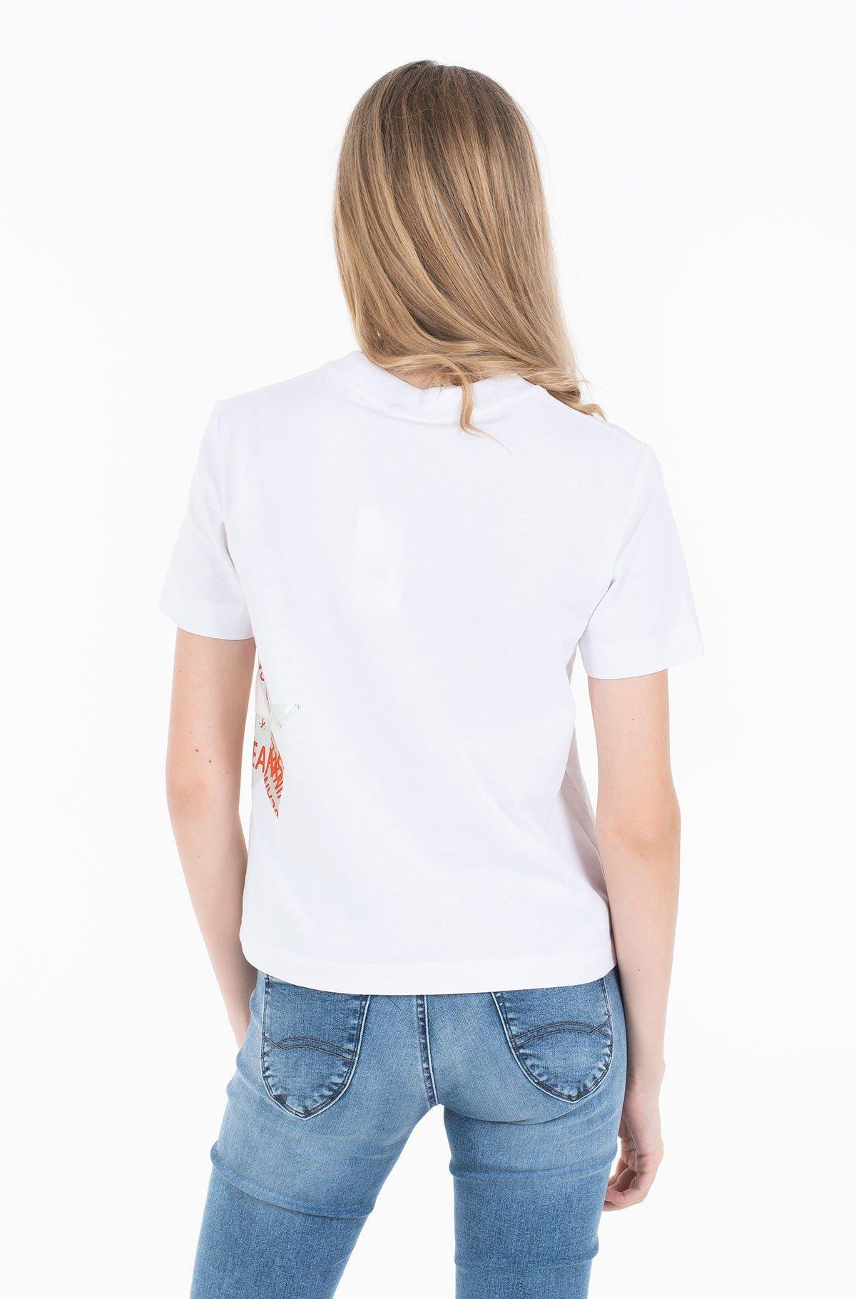 Marškinėliai INSTITUTIONAL QUILT SLIM TEE-full-2