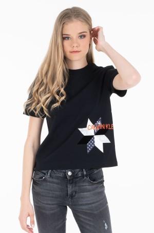 Marškinėliai INSTITUTIONAL QUILT SLIM TEE-1