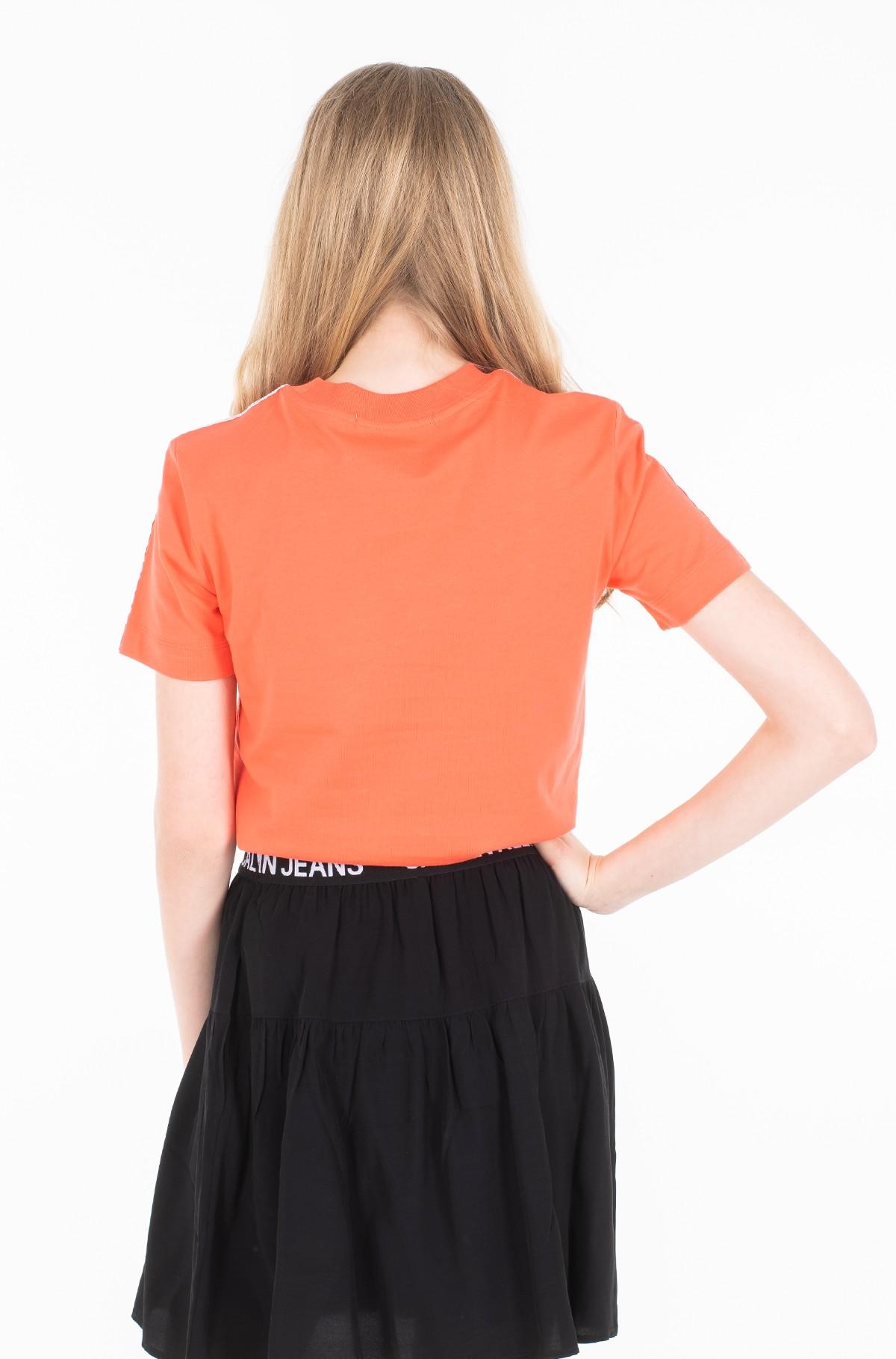 Marškinėliai TAPE LOGO STRAIGHT TEE-full-3