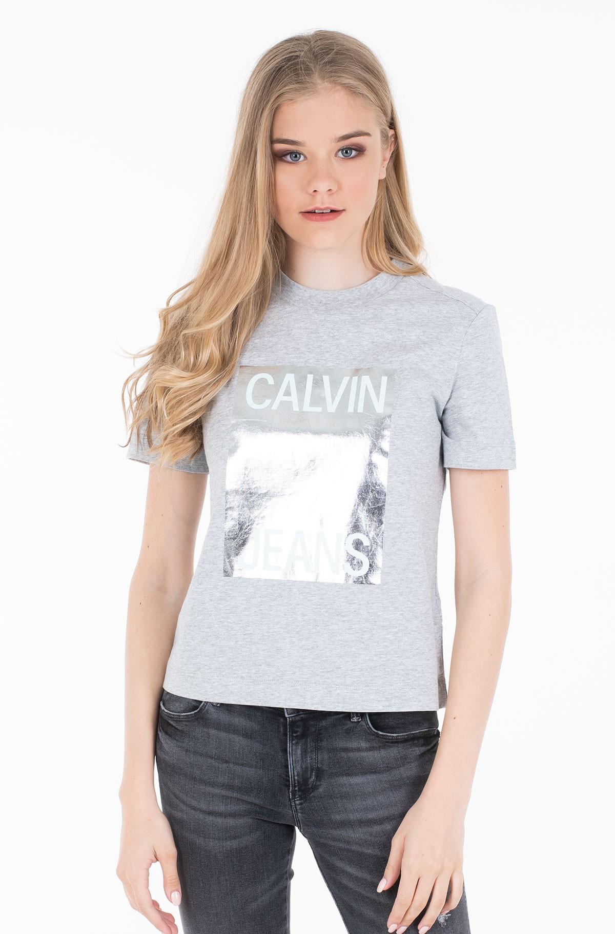 Marškinėliai CALVIN JEANS MODERN STRAIGHT TEE-full-1