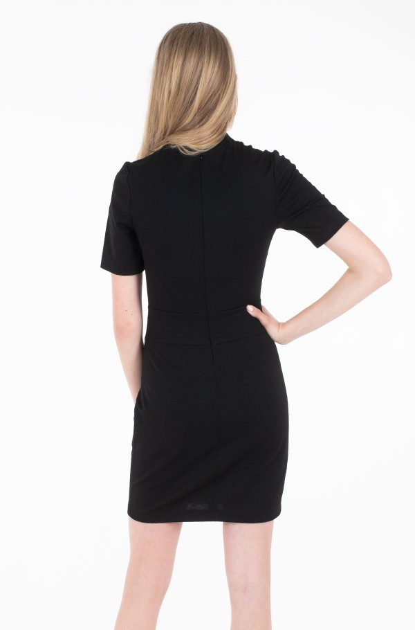 FITTED MILANO DRESS-hover