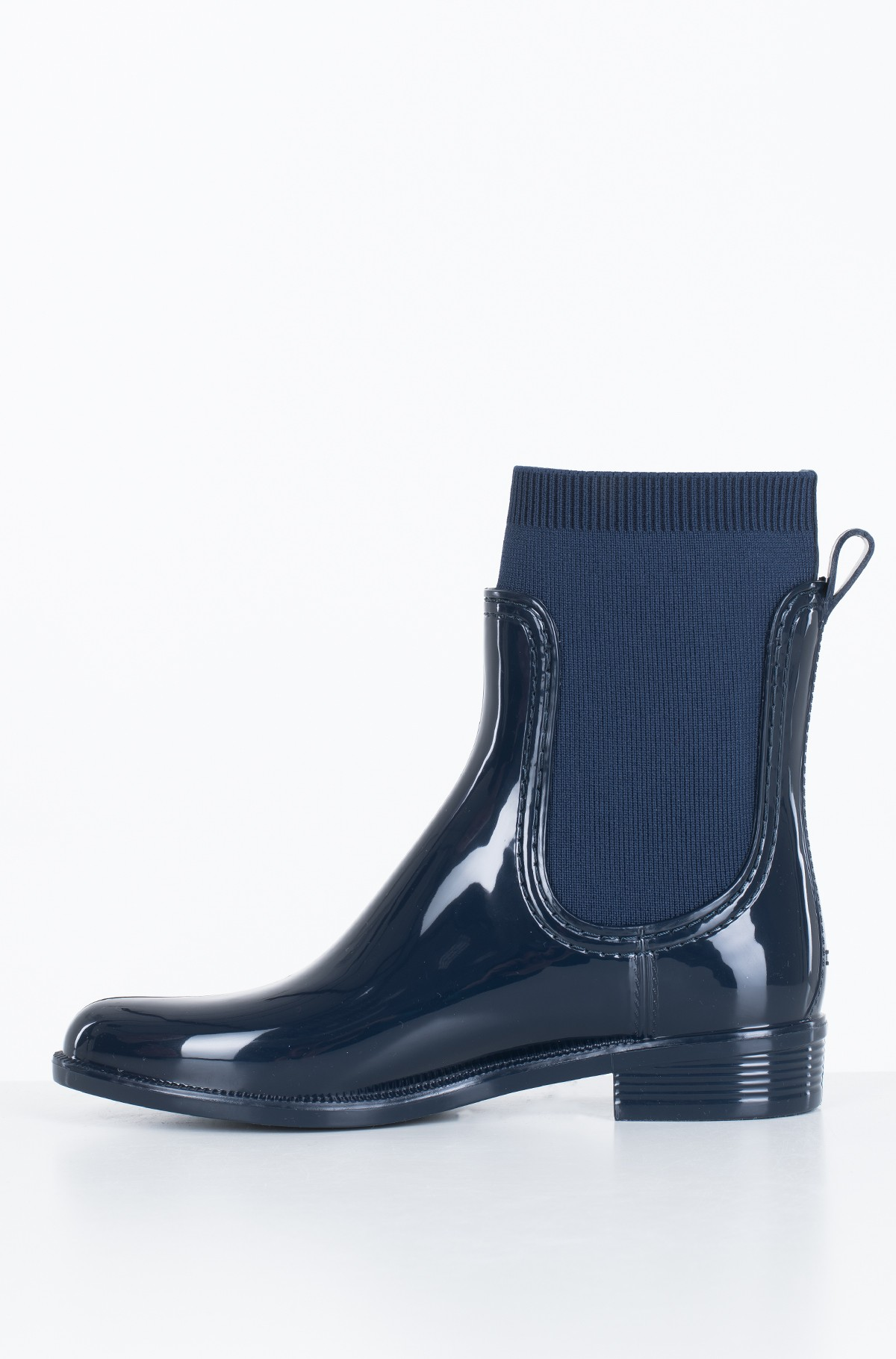 Guminiai batai KNITTED RAIN BOOT	-full-2