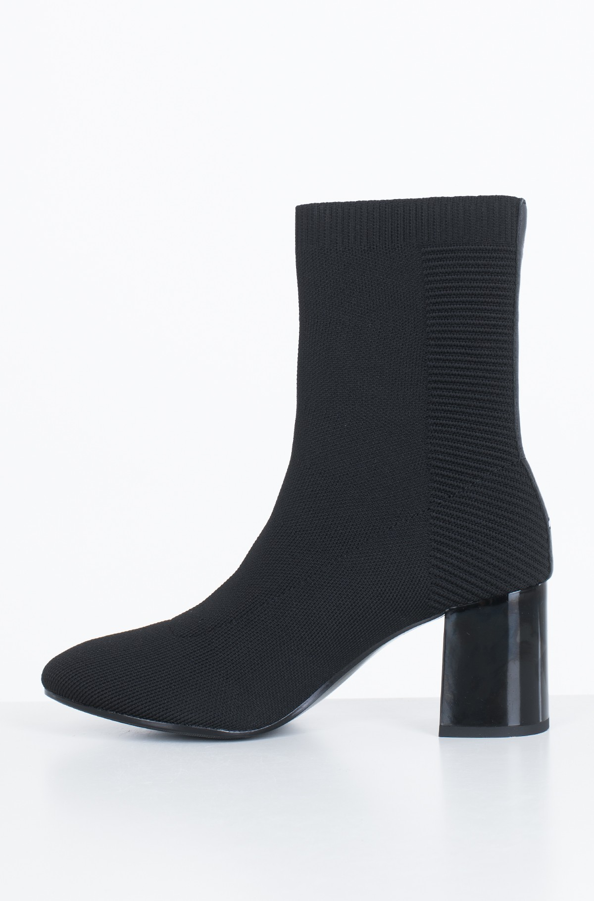 Boots KNITTED HEELED BOOT-full-2