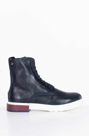 Saapad CASUAL LEATHER LACE UP BOOT	-1