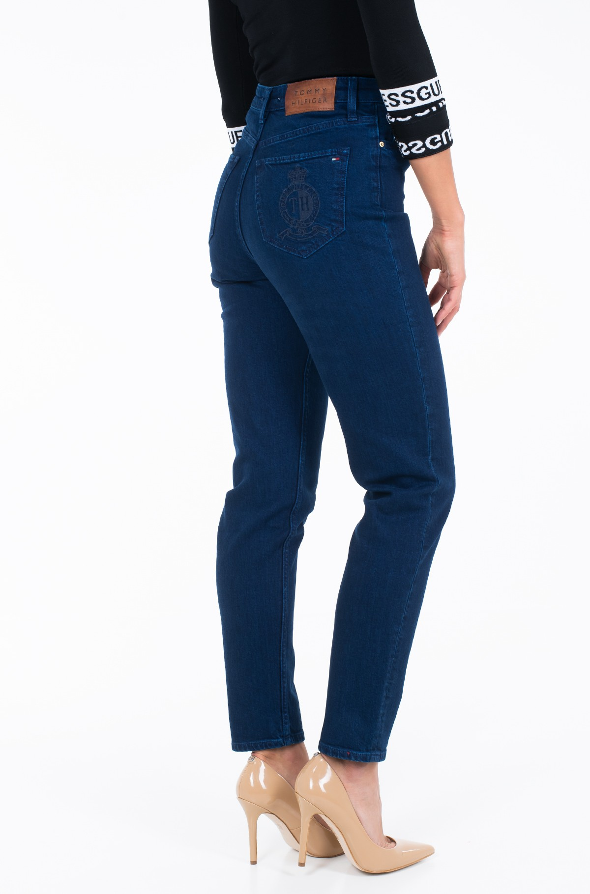 Jeans GRAMERCY TAPERED HW A TANA-full-2