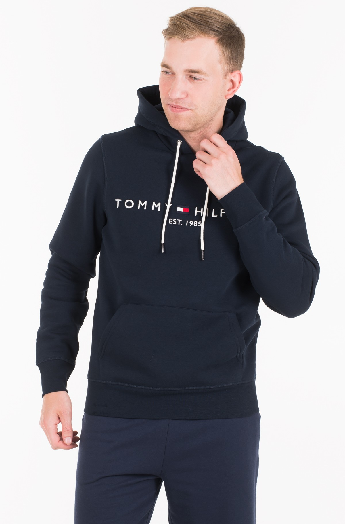 Džemperis CORE TOMMY LOGO HOODY	-full-1