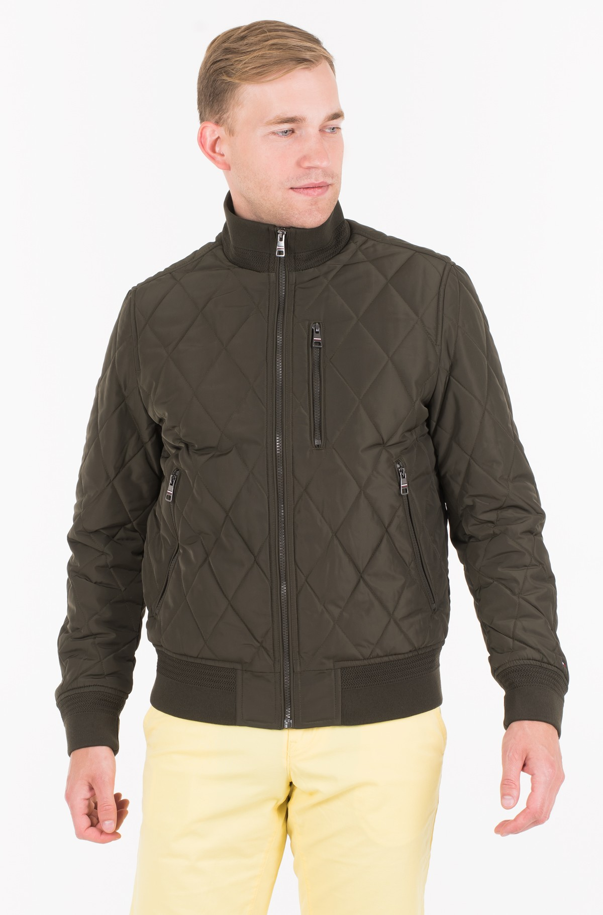 Striukė DIAMOND QUILTED BOMBER-full-1