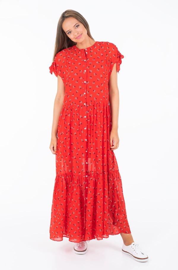 TJW FLORAL MAXI DRESS