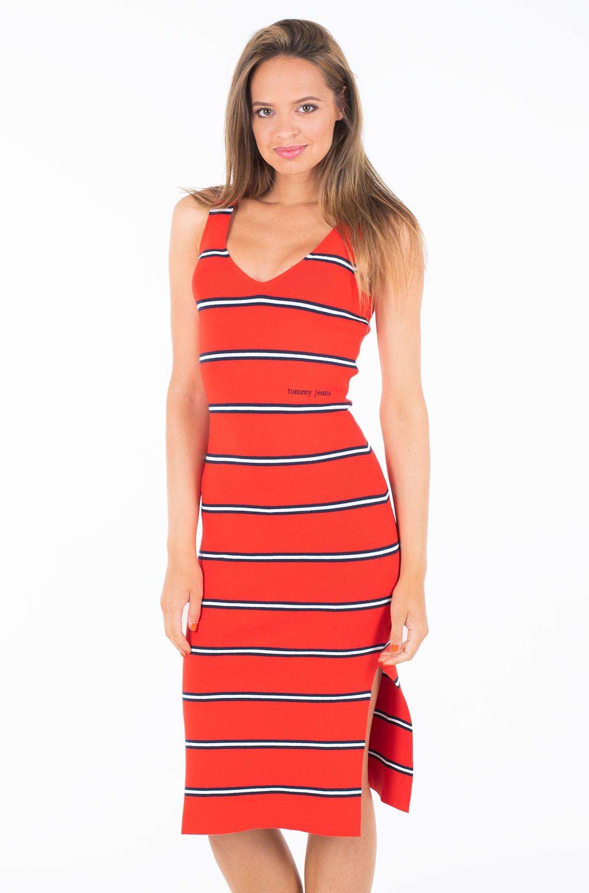Megzta suknelė TJW KNITTED STRIPE DRESS-full-1