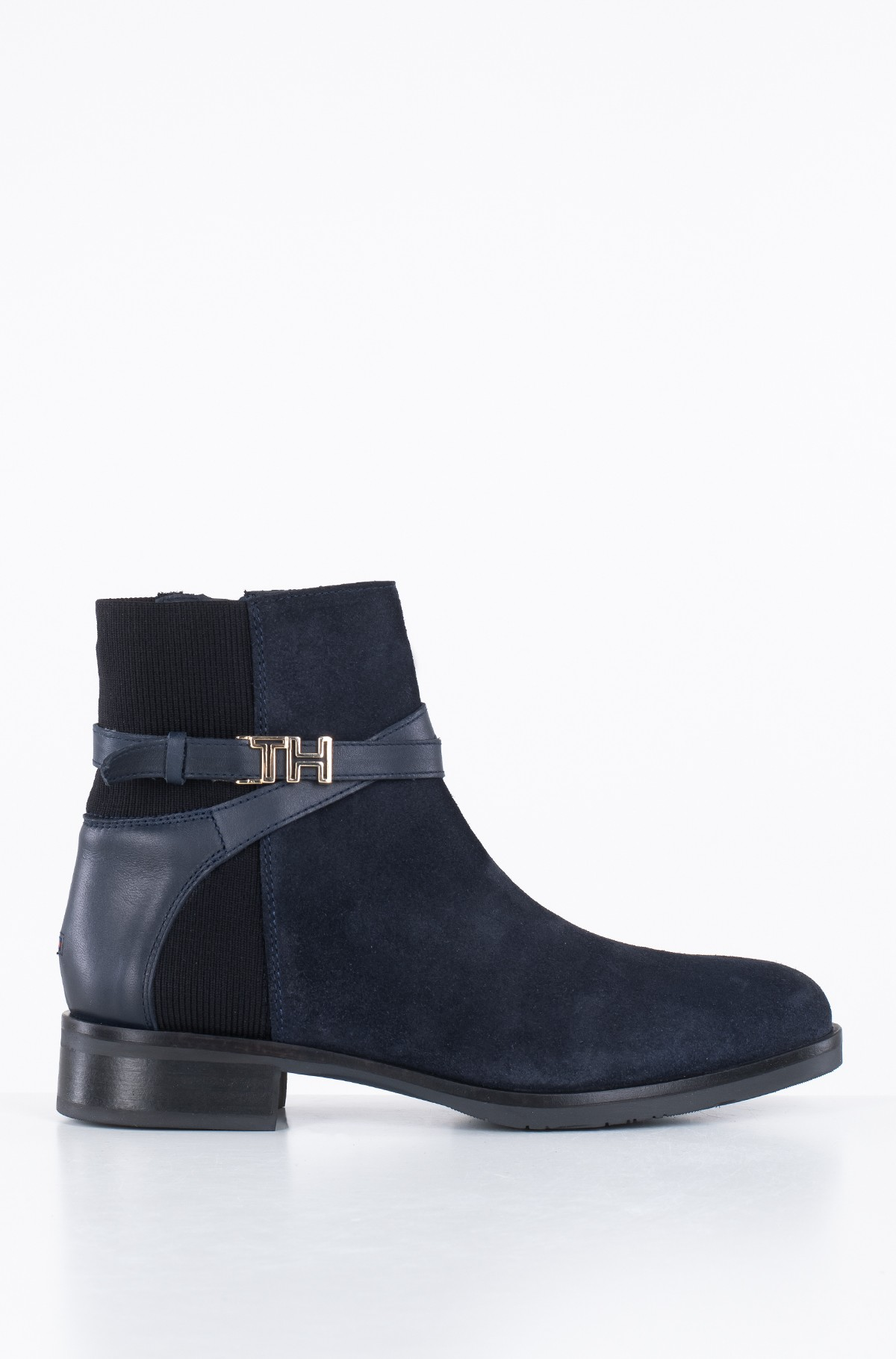 Ankle boots TH HARDWARE SUEDE FLAT BOOTIE-full-1