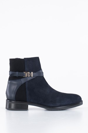 Ankle boots TH HARDWARE SUEDE FLAT BOOTIE-1