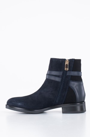 Ankle boots TH HARDWARE SUEDE FLAT BOOTIE-2