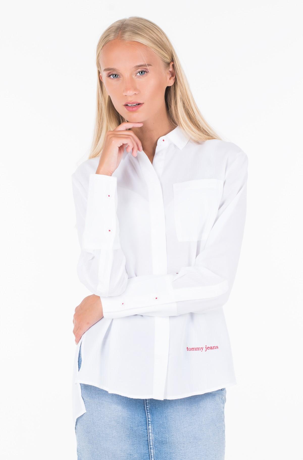 Marškiniai TJW DRAPEY SIDE SLIT SHIRT-full-1