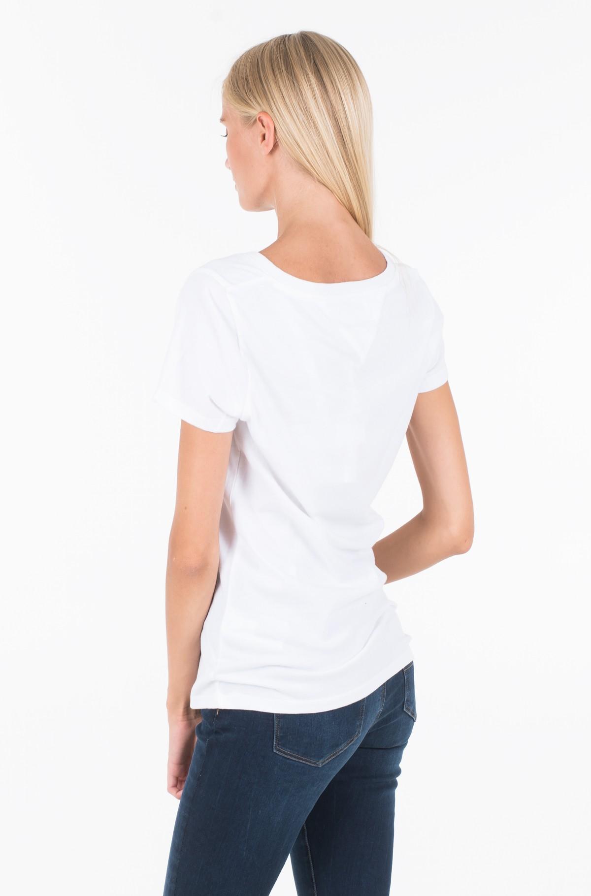Marškinėliai TJW ESSENTIAL V-NECK TEE-full-2