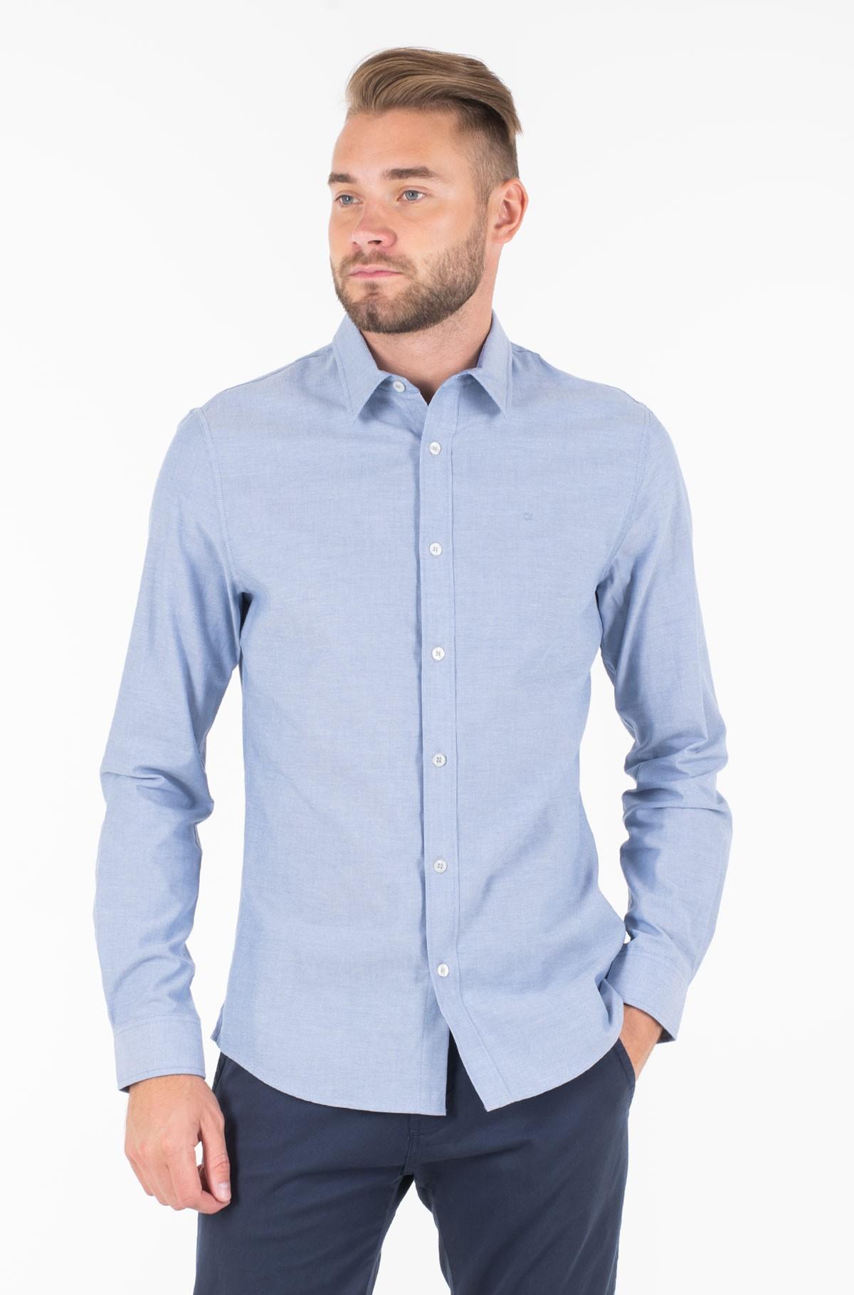 Marškiniai CHAMBRAY SLIM NON STRETCH L/S-full-1