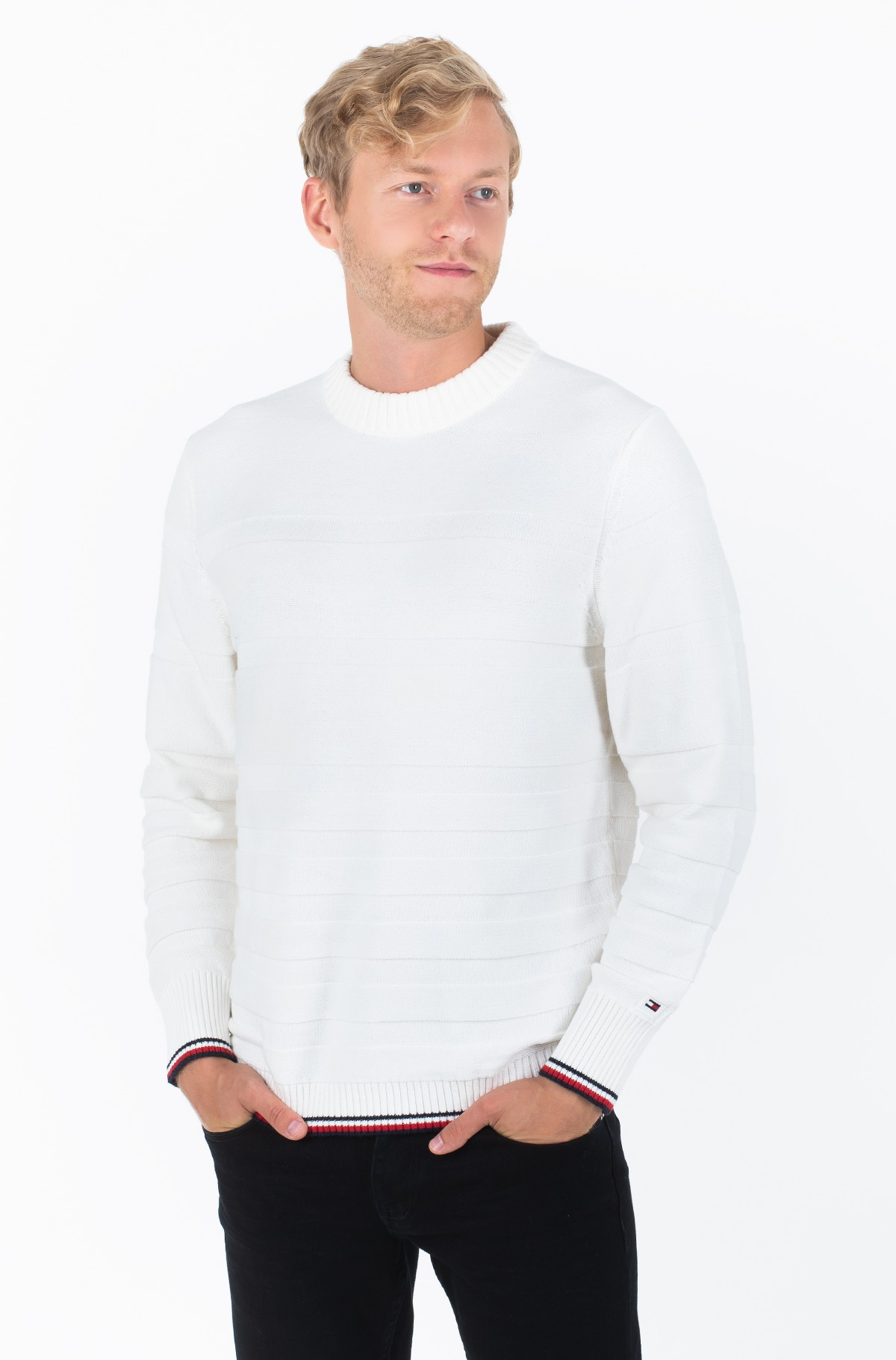 Sviiter TONAL STRIPE SWEATER	-full-1