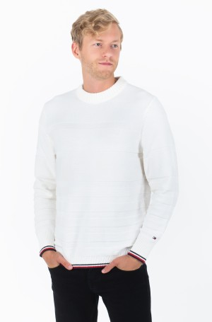 Sviiter TONAL STRIPE SWEATER	-1