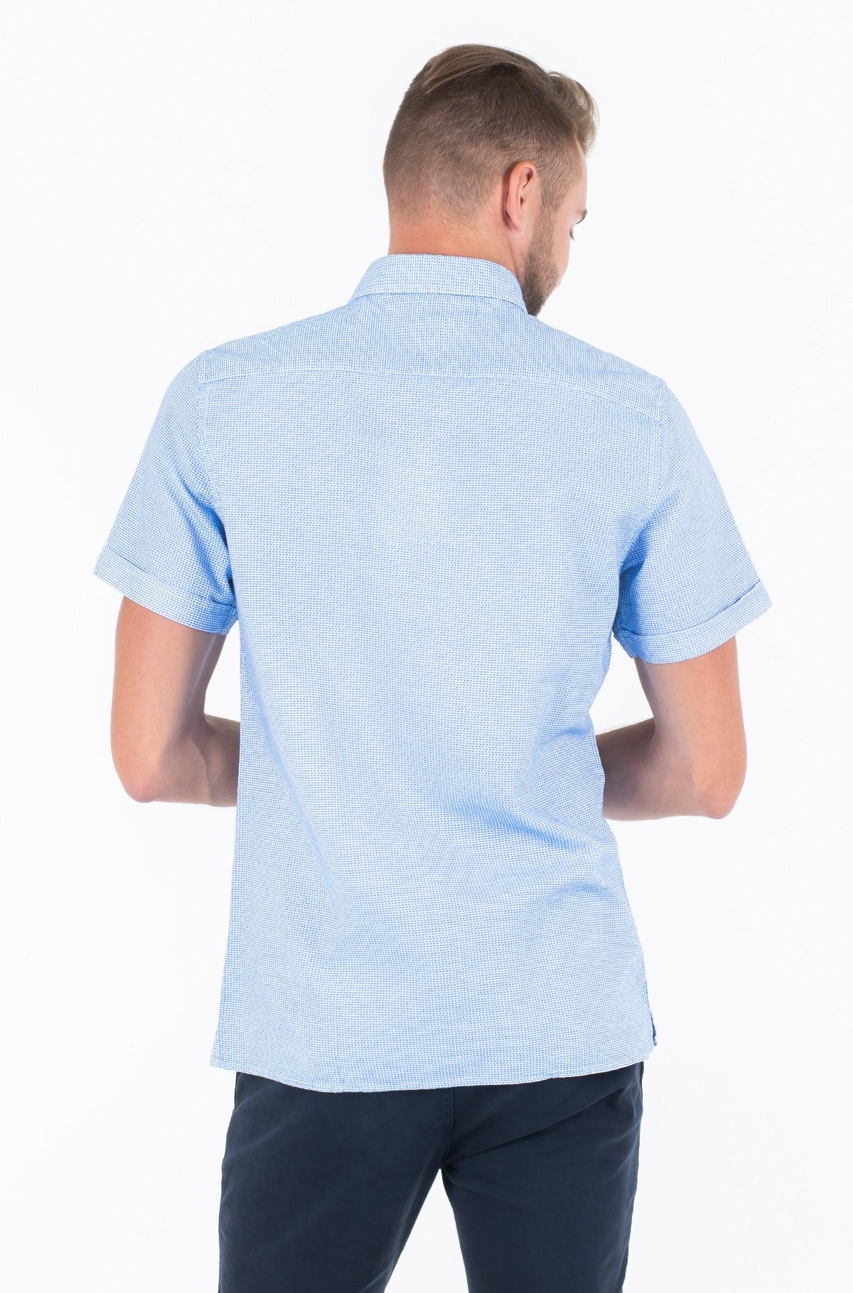 Marškiniai SLIM TEXTURED SHIRT S/S-full-2