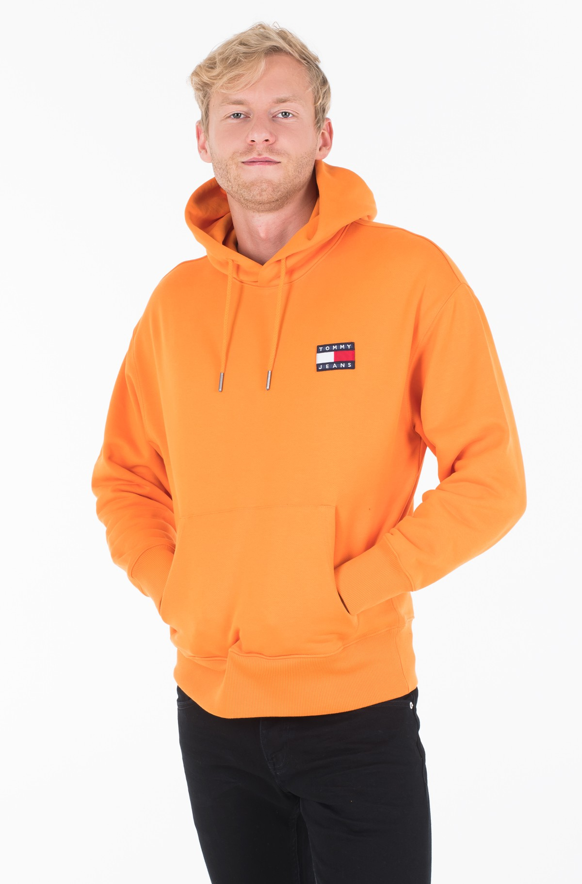 Džemperis TJM TOMMY BADGE HOODIE	-full-1