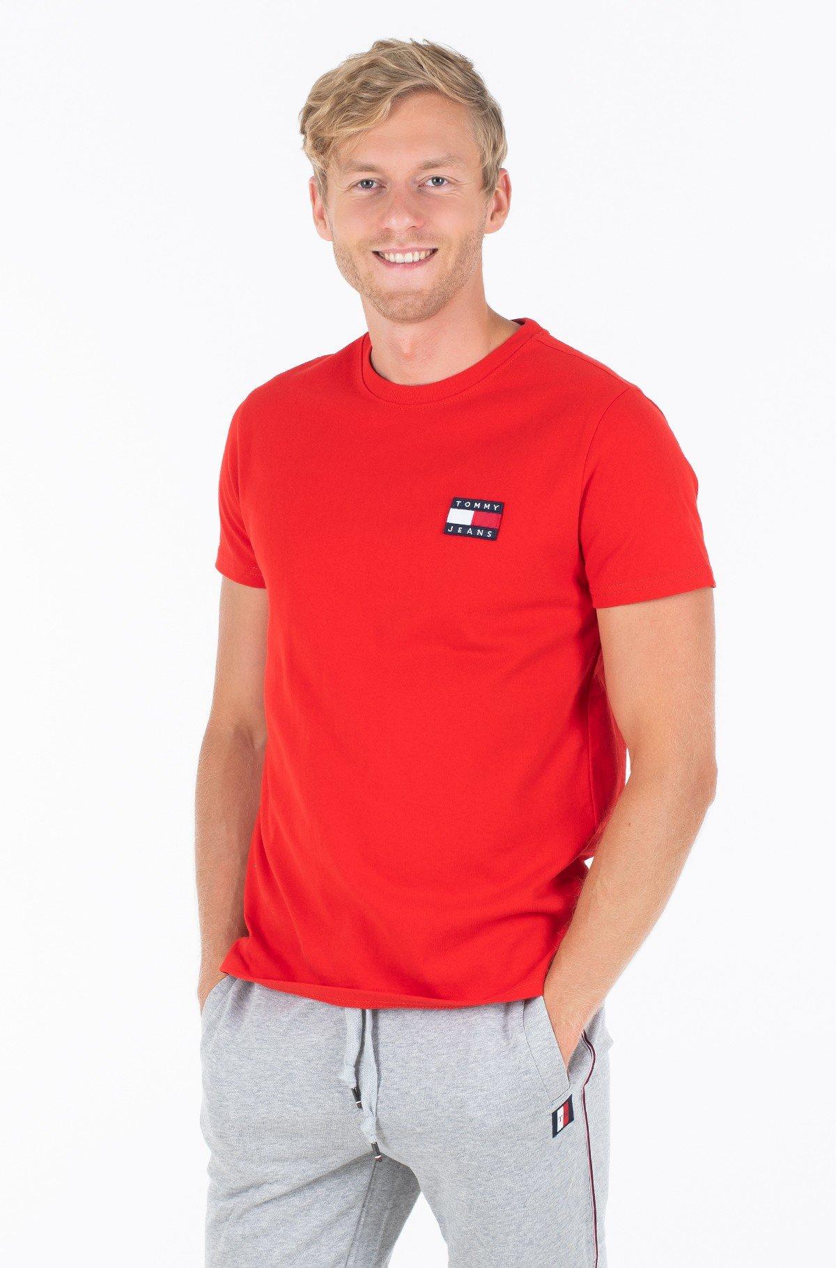 Marškinėliai TJM TOMMY BADGE TEE-full-1