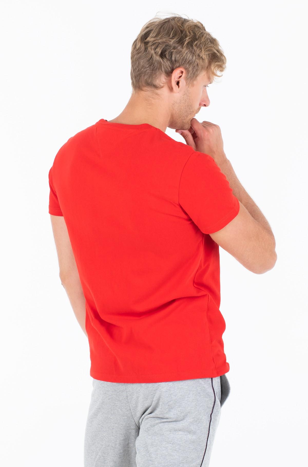 Marškinėliai TJM TOMMY BADGE TEE-full-2