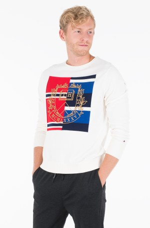Sviiter KNITTED GRAPHIC SWEATER	-1