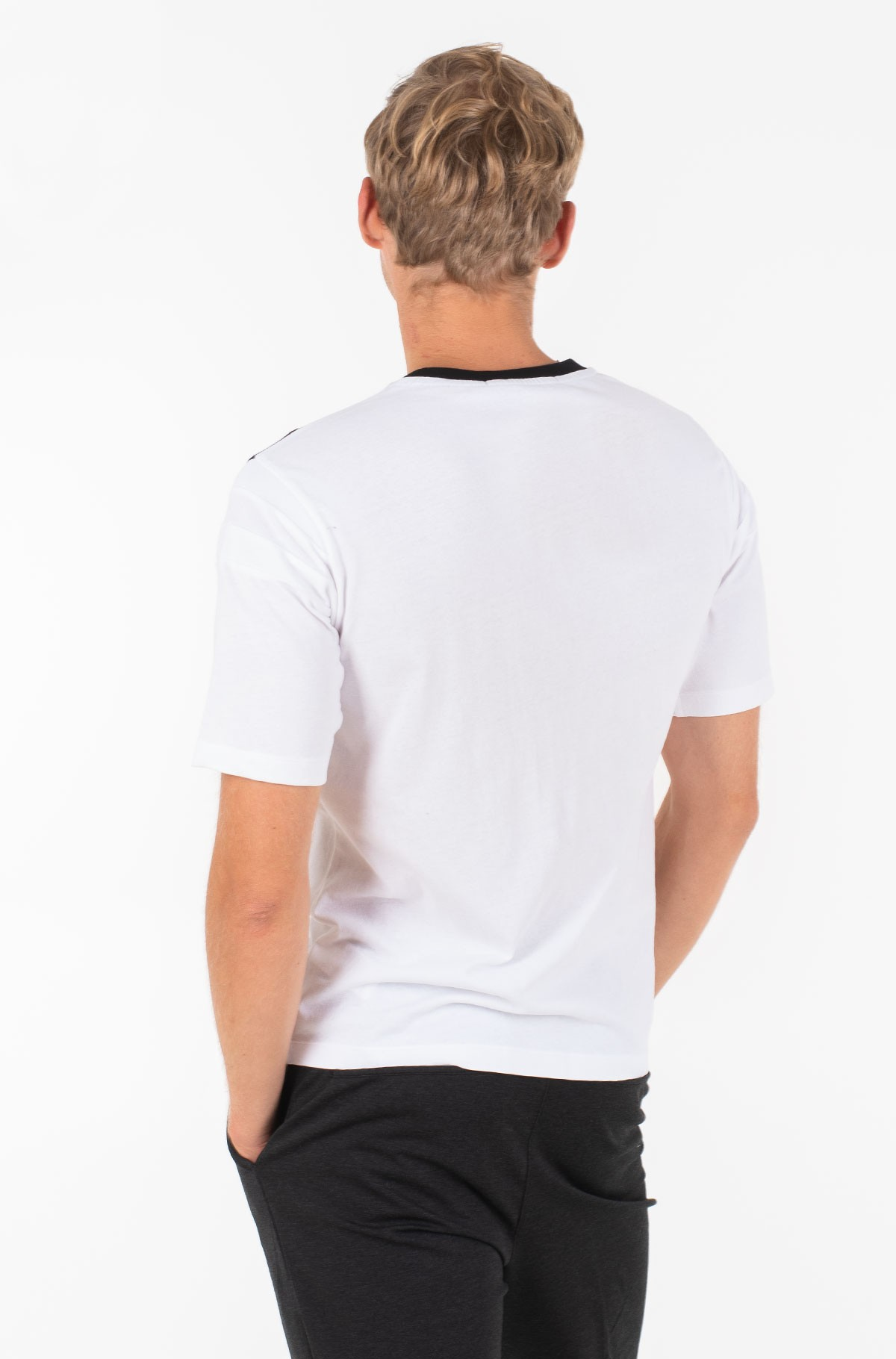 T-shirt RIB INSERT REG TEE-full-2