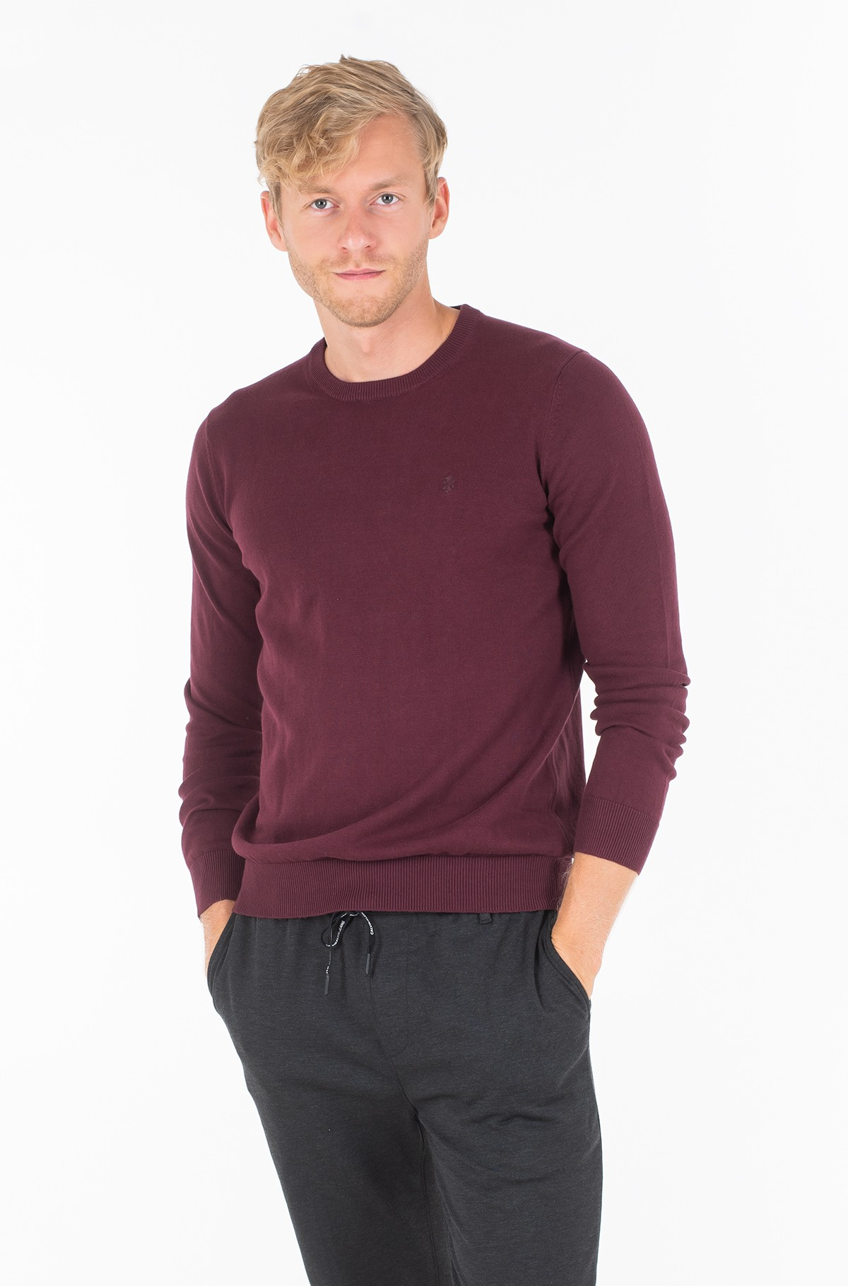 Sviiter 12GG CREW NECK SWEATER-full-1