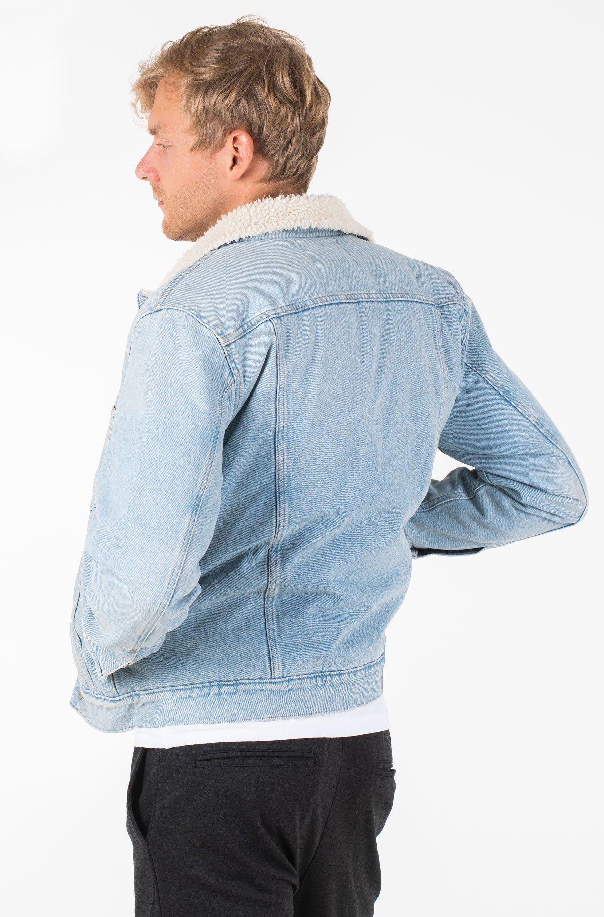 Denim jacket OMEGA SLIM SHERPA DENIM JACKET-full-2