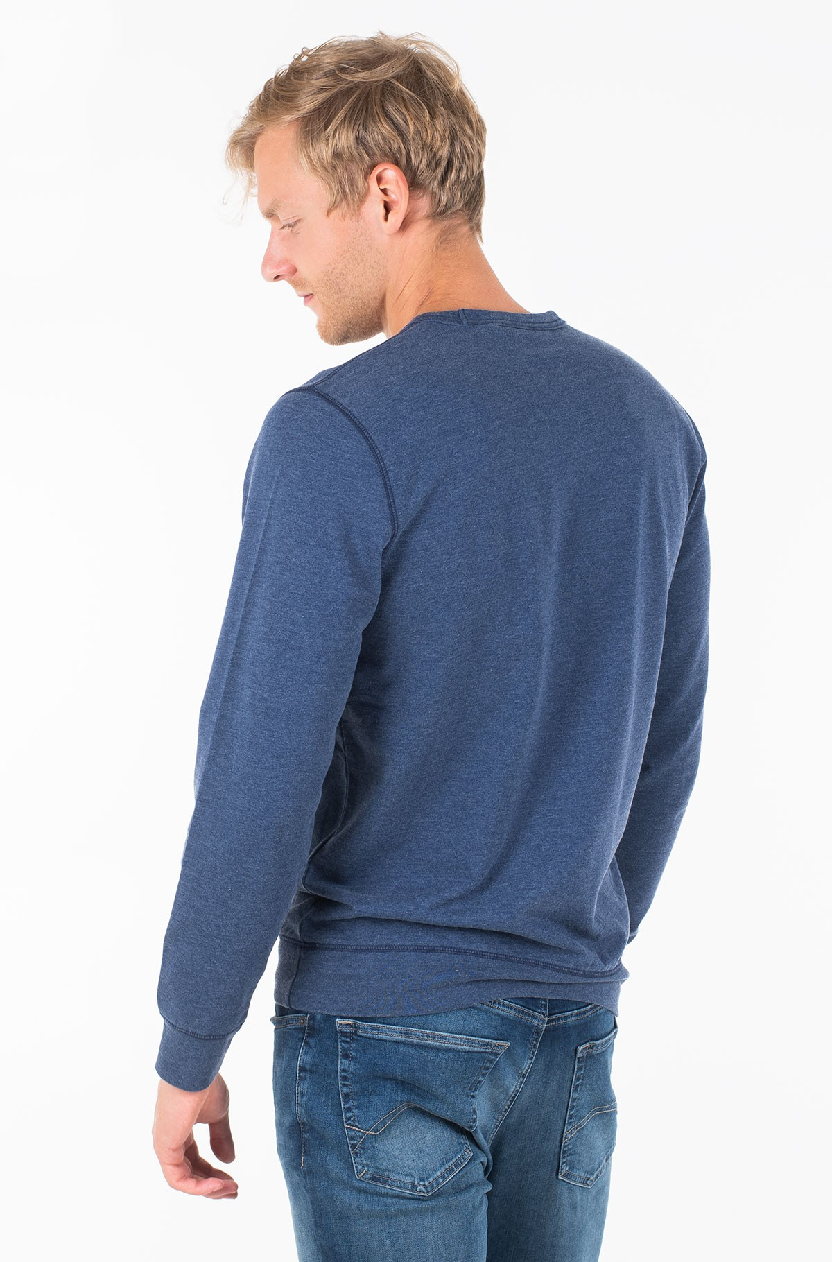 Džemperis TONAL PRINTED LOGO FLEECE CREW-full-2